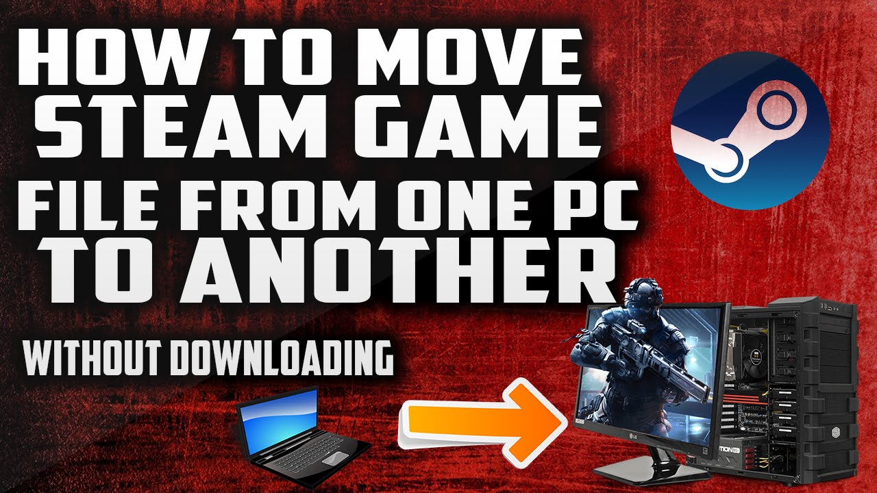 how to move steam game to another drive