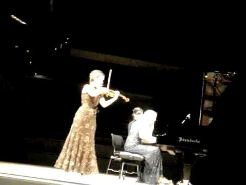 Hilary Hahn Valentina Lisitsa Johannes Brahms Hungarian Dance No. 12