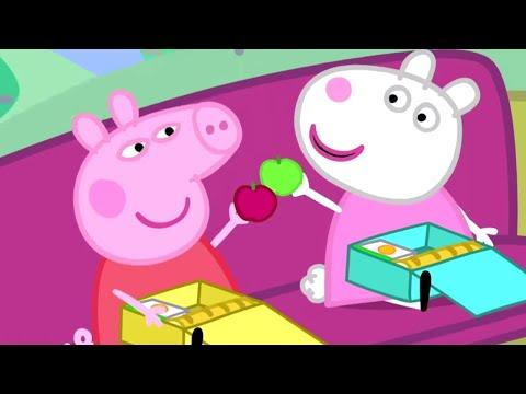 Peppa Pig Português Brasil 🚌Passeio no ônibus escolar 🚌Peppa Pig 2019 - Peppa Pig