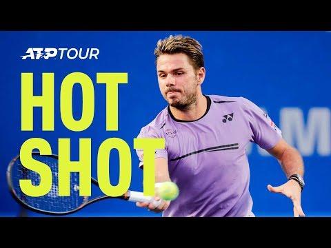 Hot Shot: Wawrinka Wins Quality Exchange With Kyrgios At Acapulco 2019