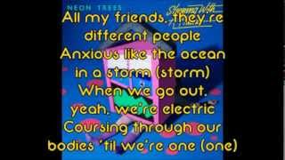 Neon Trees - Sleeping With A Friend (lyrics)