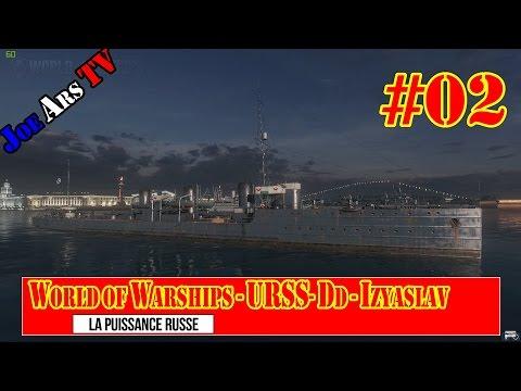 World of Warships gameplay - Izyaslav #02