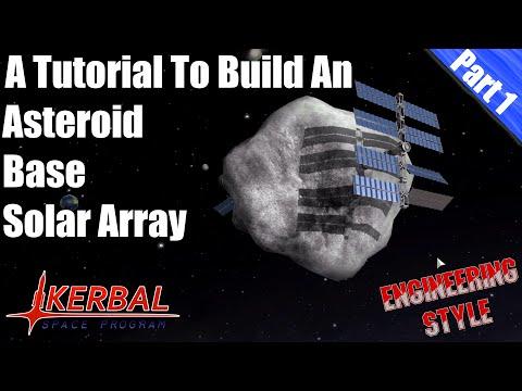 Kerbal Space Program - Asteroid Base Tutorial Part 1