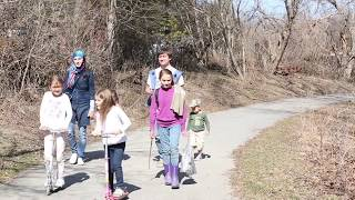 The Family's Spring Adventure 2015