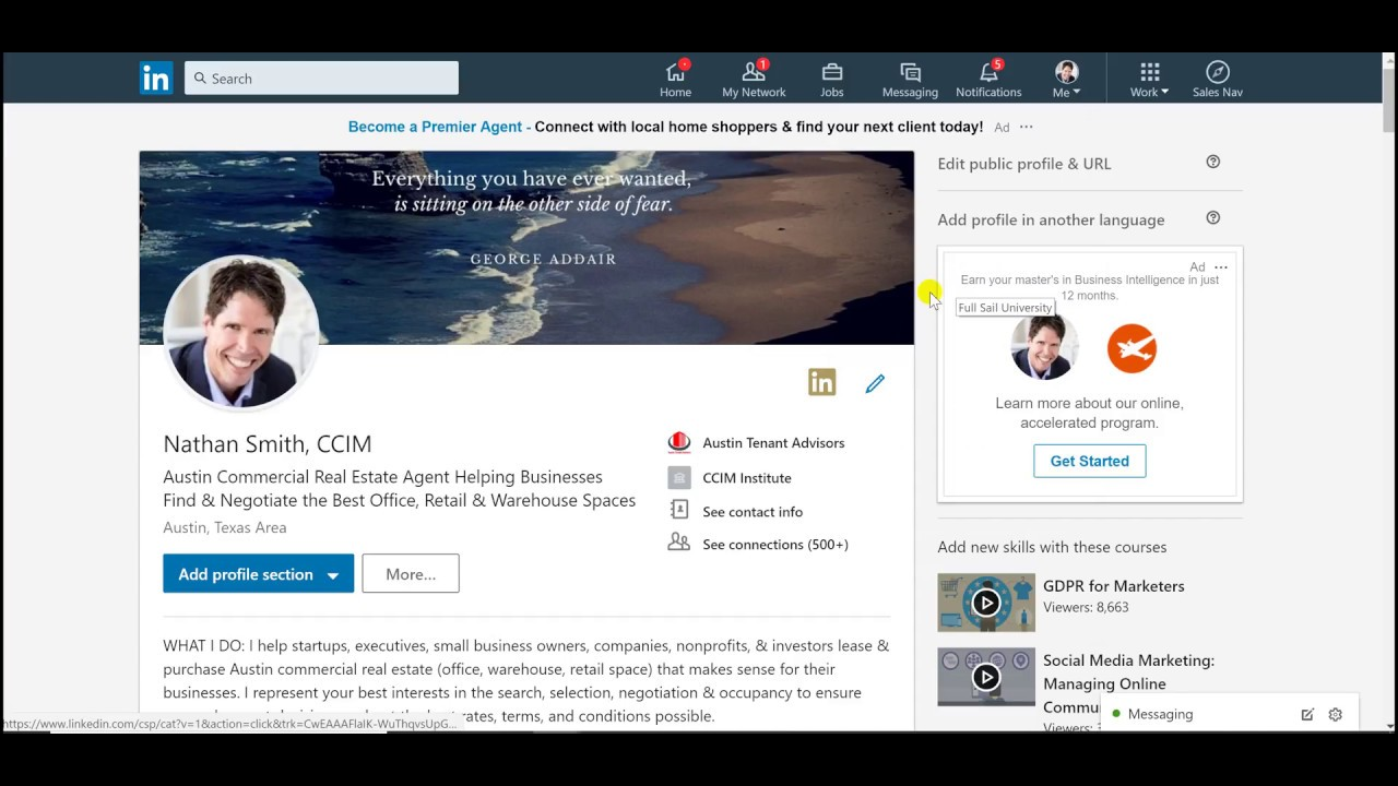 How To Add Resume To Linkedin In 2018 Youtube