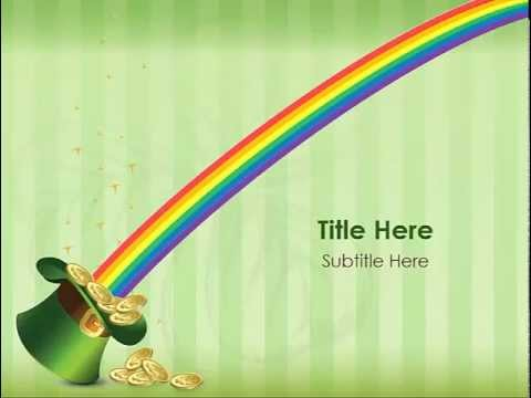 Animated St Patrick\u0027s Day PowerPoint Template - YouTube