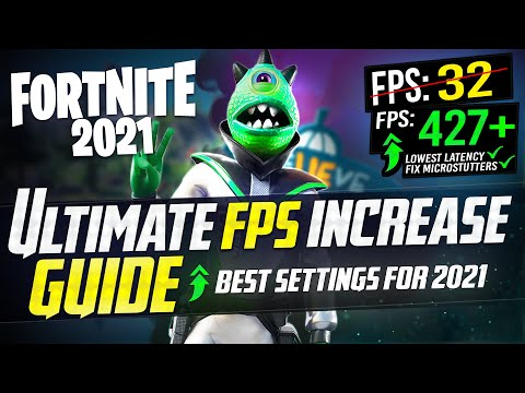 🔧 FORTNITE SEASON 6: Dramatically increase FPS / Performance with any setup! in 2021 S6 *NEW* 🖱️🎮✔️
