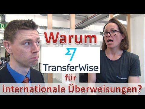Warum TransferWise für internationale Überweisungen?