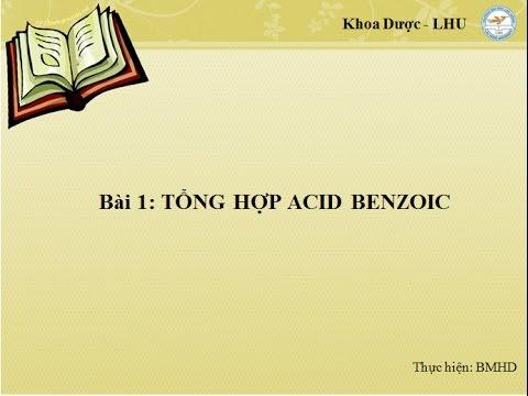 Tổng hợp acid benzoic