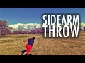 Eric Oakley Disc Golf Sidearm Throw