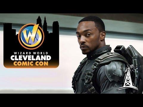 Wizard World Cleveland 2017 - Anthony Mackie Panel