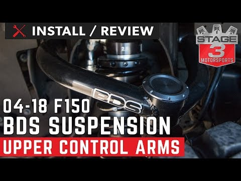 2004-2018 F150 BDS Tubular Ball Joint Upper Control Arms Install and Review