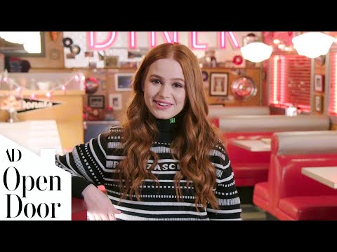 On Riverdale's Set With Madelaine Petsch | Open Door | Architectural Digest
