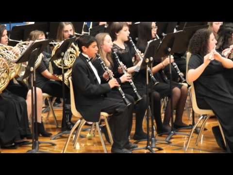 White House Middle school band christmas 2015 pt1