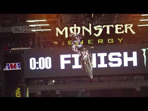 Jason Anderson 2018 Monster Energy Supercross Champion