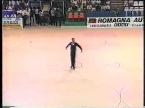 Scott Cohen 1985 World Roller skating championships Italy