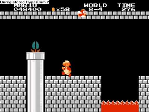 Como Pasar Super Mario Bros Mundo 8 4 Youtube
