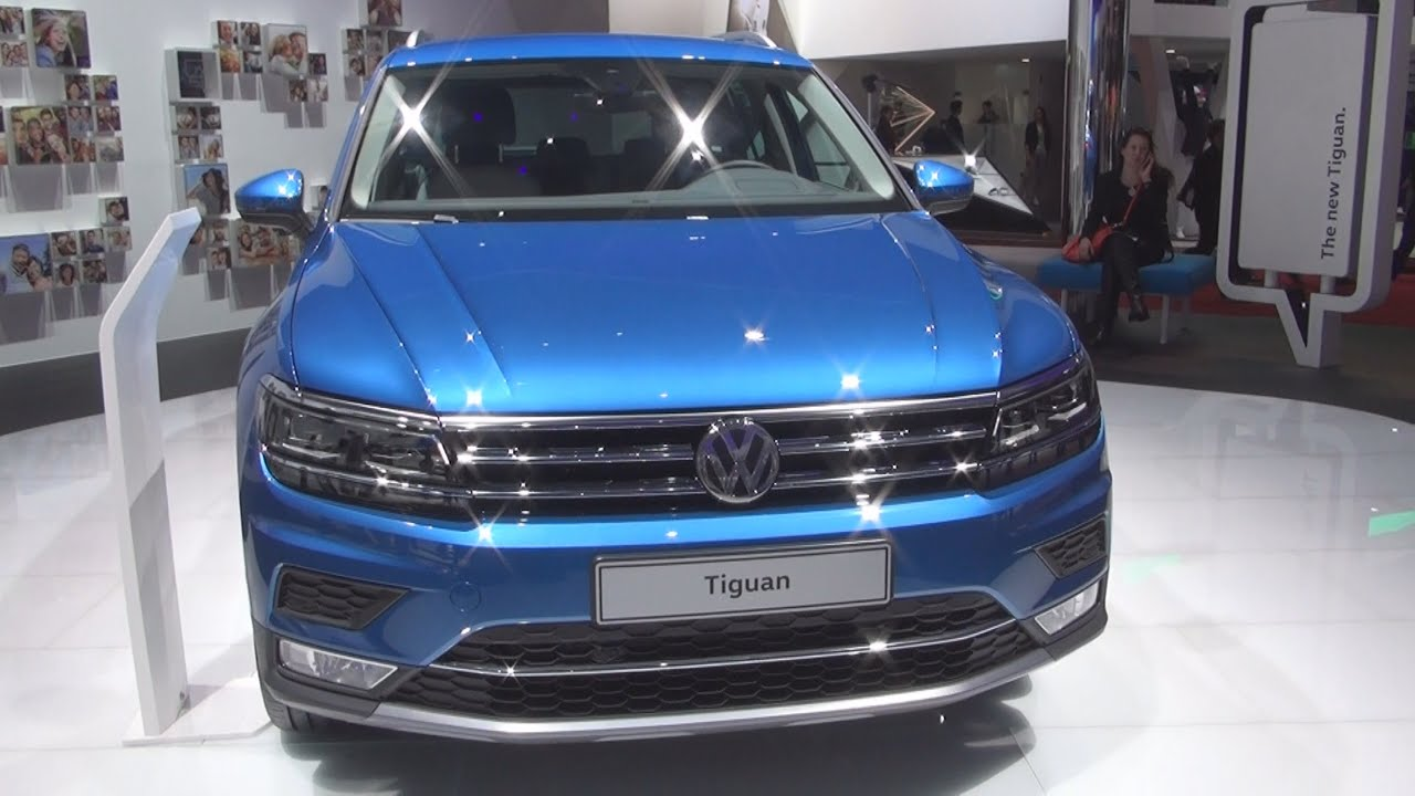 Volkswagen Tiguan Highline 4MOTION 2.0 TSI 180 hp (2016) Exterior and ... Volkswagen Tiguan