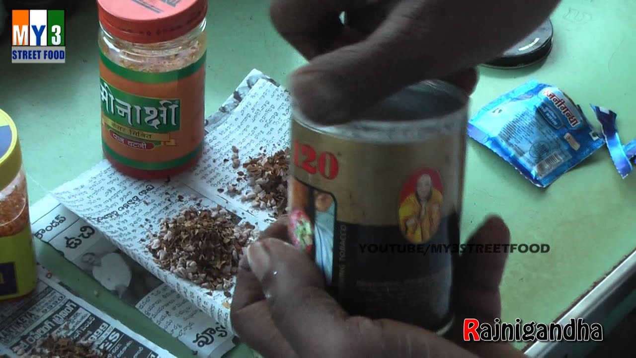 RAJINIGANDHA - INDIAN PAN MASALA - GOA STREET FOOD street food - YouTube
