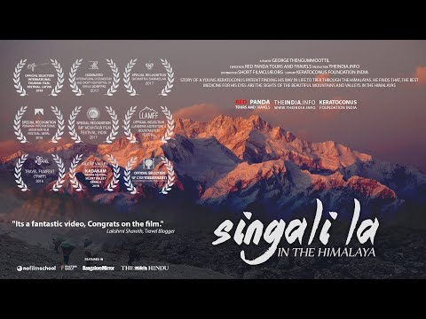 Singalila In the Himalaya. Goechala Singali la 14 day Trekking in India Nepal Himalayas. Documentary