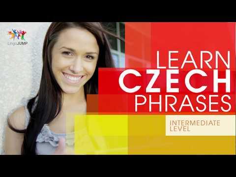 Learn Czech Phrases - Intermediate Level! Learn important Czech words, phrases & grammar - fast!