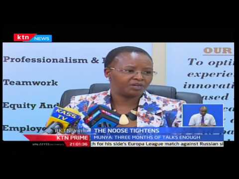 DOCTORS'S STRIKE: Kenya National Hospital fires 12 of it's 60 doctors