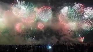 UAE 45th National Day celebration Fireworks 2016 - Dubai