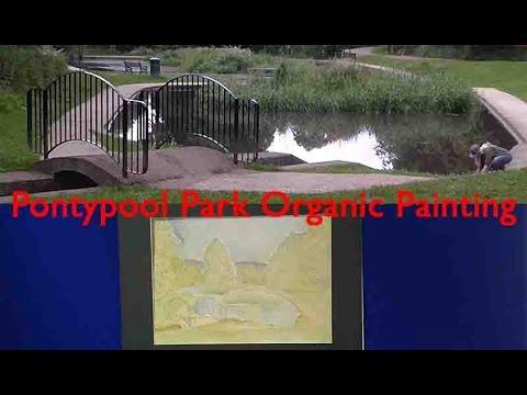 Pontypool Park Organic Painting