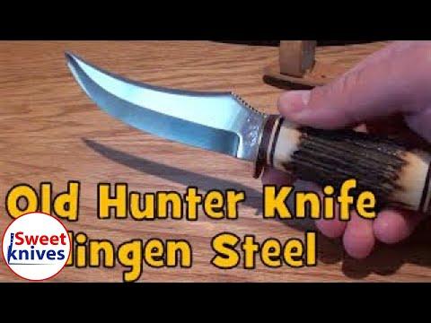[51] Buffalo Skinner Solingen 496 Knife - Made In Germany