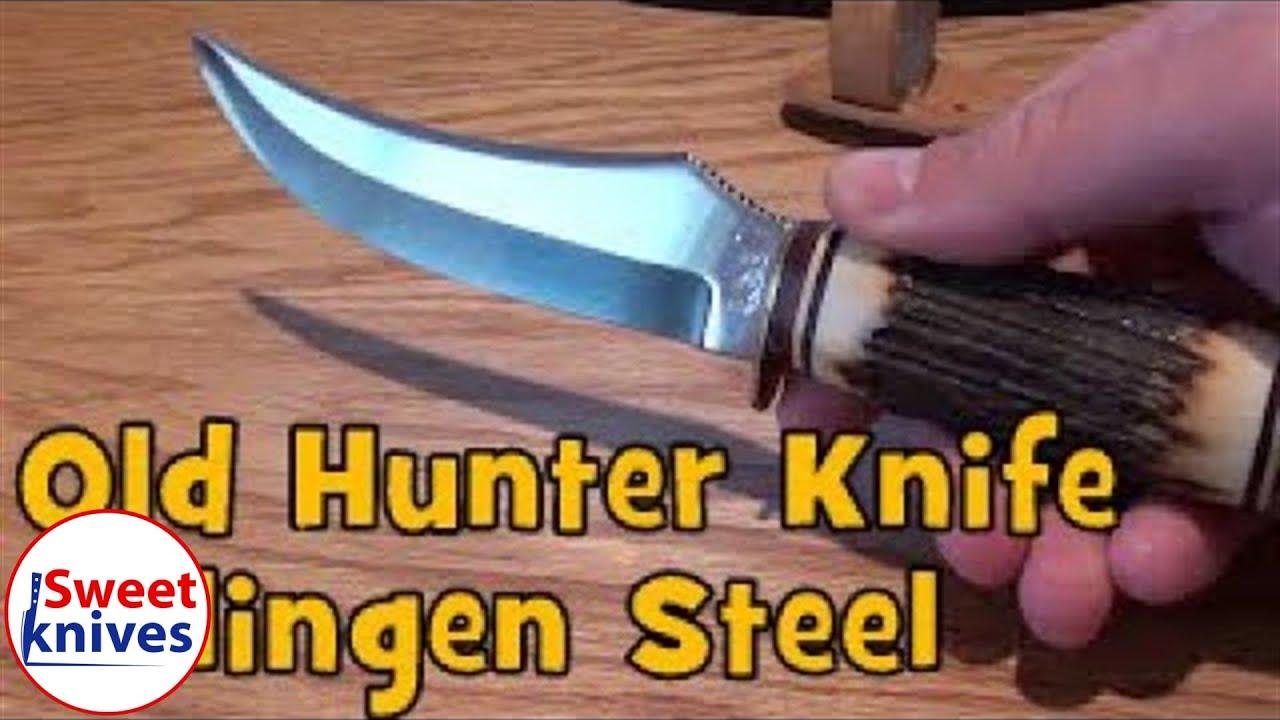 Buffalo Skinner Solingen 496 Knife - Made in Germany