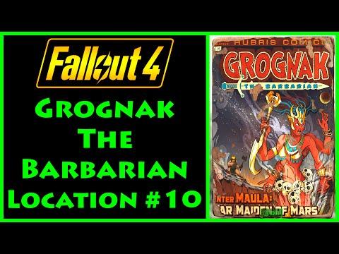Fallout 4 - Grognak the Barbarian - Boston Common - 4K Ultra HD