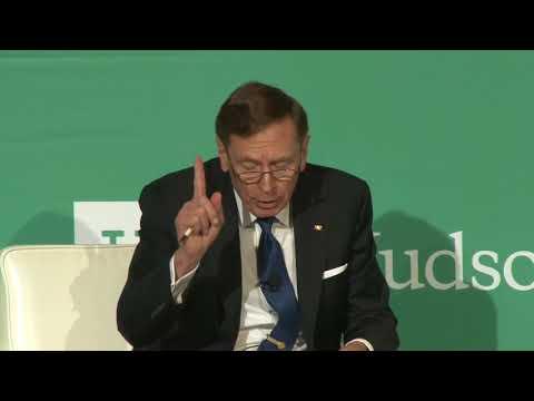 (4) Keynote Address, General David Petraeus, US Army (Ret.)