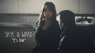 Skye and ward together get do when Agents Of