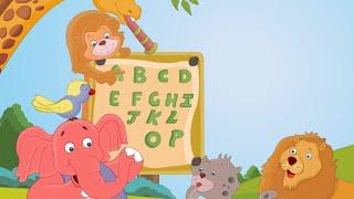 A For Apple - ABC Alphabet Songs with Sounds for Children - Nursery rhymes  ABC Alphabet ABCD  Hindi