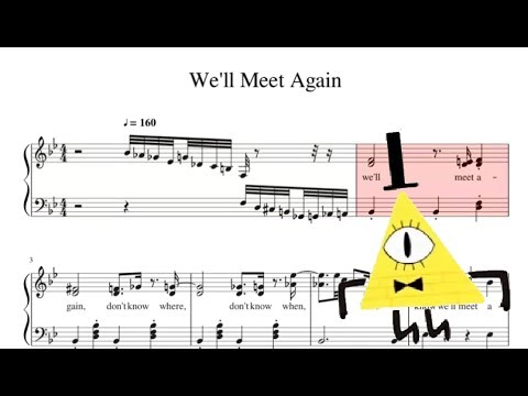 if we ever meet again piano sheet music free