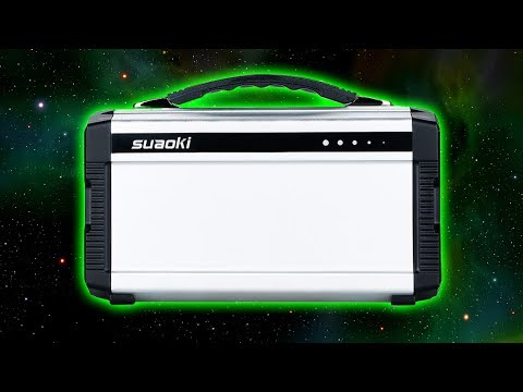 In Depth Review of the Suaoki Generator and Solar Panels