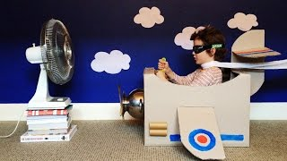 Children's Cardboard Box Creations, Online Video Production By Video Lift For Boxes By The Fox.