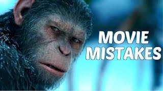 War for the Planet of the Apes Movie Mistakes Goofs, Fails & Everything Wrong You Missed