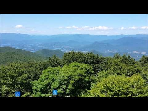 Brasstown Bald, the highest point in Georgia - USA