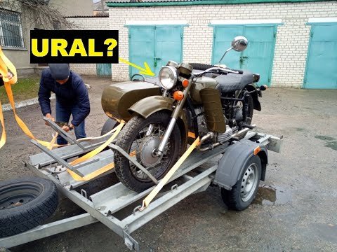 Ural (Dnepr) MT16 First review. My new motorcycle with sidecar.