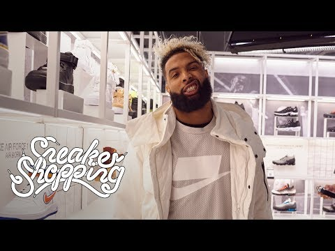 Odell Beckham Jr Goes Sneaker Shopping With Complex