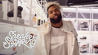 Odell Beckham Jr. Goes Sneaker Shopping With Complex