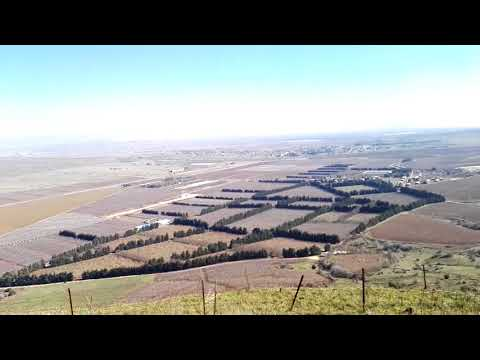 A Look at Syria from the Golan Heights Israel (60 km  / 40 miles from Damascus)