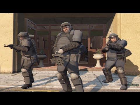 GTA 5 Mejores Misiones # 9 El Golpe a Paleto