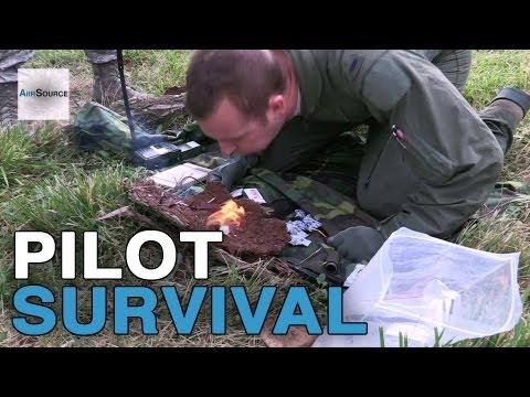 A-10 Pilot Survival Skills