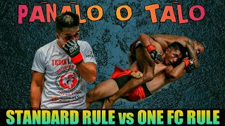 Paano Natalo si Geje Eustaquio   Standard Rule vs One FC's Rule   How the Judges Scored the Fight