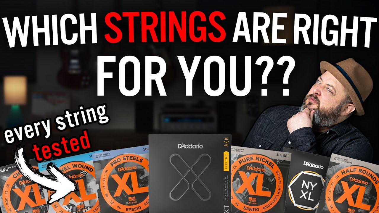 Do Your Guitar Strings EVEN Make a Difference?