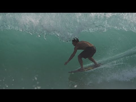 The Domke Daily 70: Caribbean Beachbreak Barrel | Board Transfer to Skimboard