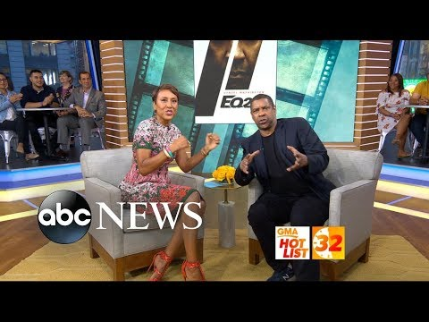 'GMA' Hot List: Denzel Washington breaks out into  with Robin Roberts