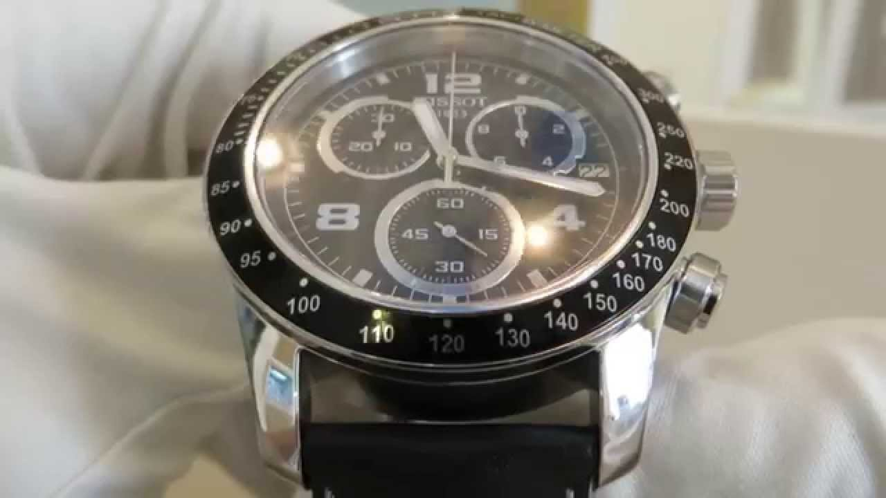Tissot V8 T039 417 16 057 02 Youtube
